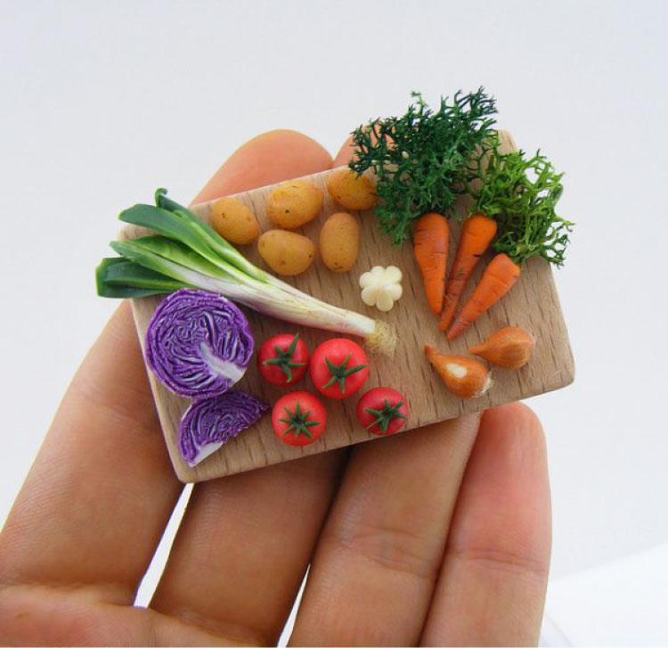 Miniature-Food-Artwork--Photo