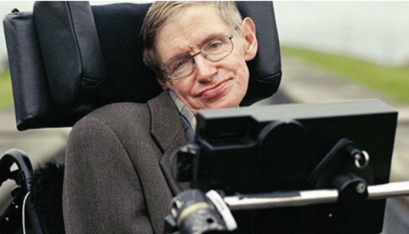 Stephen Hawking Has An Inspiring Message For Anyone Who Suffers From Depression [Video]