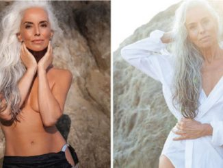 61-Year-Old Model Stuns The World, Shares Her Secrets To Graceful Aging [Photos] 0