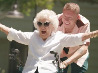 Everyone's Going Crazy Over Macklemore's Gift To His 100-Year-Old Grandmother
