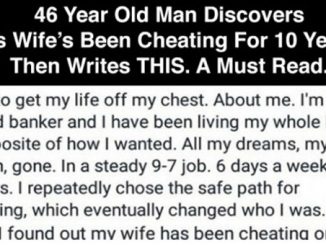 Heartbreaking Facebook Post By A Man Who Just Found Out His Wife's Been Cheating For 10 Years 0